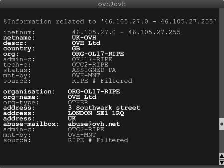 RIPE IP Failover blocks- OVH