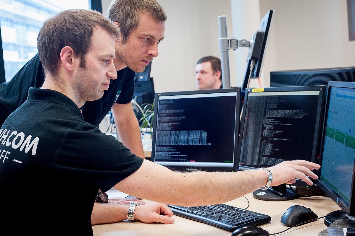The OVH team in Brest monitors the VPS infrastructure 24/7.