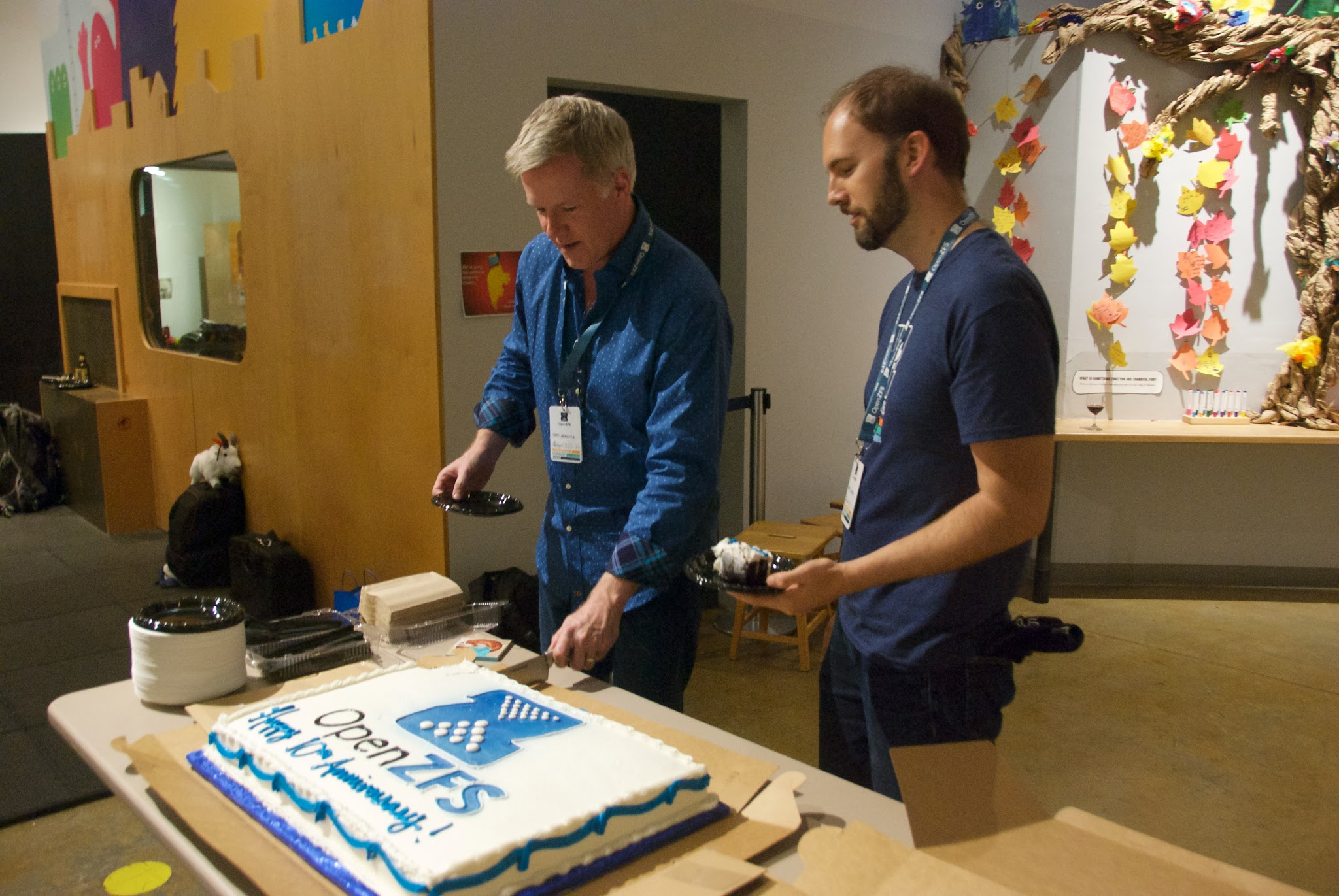 This event was also an opportunity to celebrate OpenZFS's 10 year anniversary.