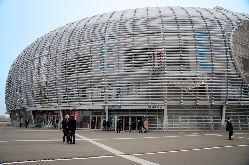 The OVH World Tour in Lille was held at the Pierre-Mauroy de Villeneuve-d'Ascq stadium, Lille OSC's homeground.