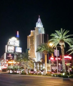 The Strip is calm, everyone is at Partner Exchange