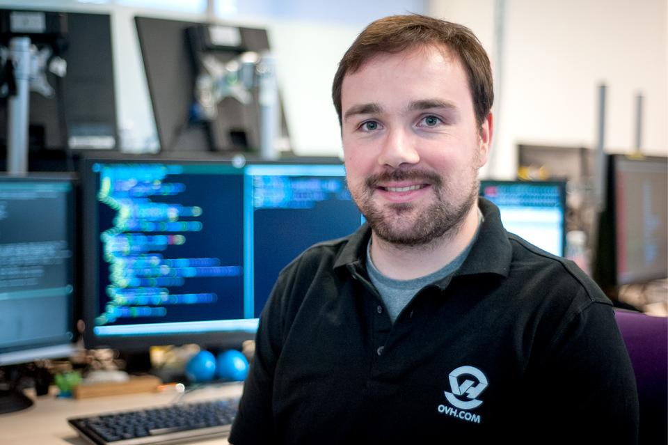 François Loiseau, Systems Administrator and cloud computing specialist, has been working on Dedicated Cloud since 2010.